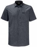 JACK WOLFSKIN Herren Hemd Barrel Shirt, Größe XL in Grau