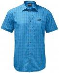 JACK WOLFSKIN Herren Hemd Rays Stretch Vent Shirt M, Größe XL in brilliant blu