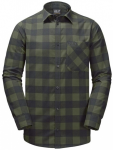 JACK WOLFSKIN Herren Hemd RED RIVER SHIRT, Größe 2XL in Grau