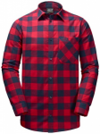 JACK WOLFSKIN Herren Hemd RED RIVER SHIRT, Größe XL in Rot