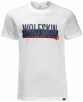 JACK WOLFSKIN Herren T-Shirt SLOGAN T MEN, Größe L in Weiß