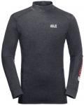 JACK WOLFSKIN Herren Shirt SNOW SKY LONGSLEEVE, Größe XL in ebony