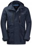 JACK WOLFSKIN Herren Wetterschutzjacke Bridgeport Jacket, Größe M in Night Blu