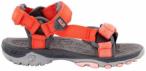 JACK WOLFSKIN Kinder Sandale Kids Seven Seas, Größe 35 in Hot Coral, Größe 3