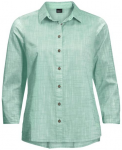 "JACKWOLFSKIN Damen Outdoor-Bluse ""Emerald Lake Shirt Women"" 3/4-Arm, Größe XL"