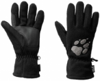 JACKWOLFSKIN Fleecehandschuh  Paw Gloves, Größe M in Schwarz