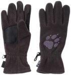 JACKWOLFSKIN Fleecehandschuh  Paw Gloves, Größe XL in Grau