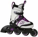 K2 Kinder Inline-Skates Velocity Jr. Girls, Größe 29 in Weiß