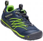 KEEN Kinder Trekkinghalbschuhe CHANDLER, Größe 38 in Dress Blues / Greenery