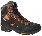 LOWA Herren Trekkingschuhe Camino GTX, Größe 41 in Schwarz / Orange