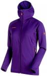 MAMMUT Damen Alpinjacke Eiswand Advanced ML Hooded Jacket, Größe S in Dawn