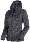 MAMMUT Damen Fleecejacke Chamuera ML Hooded Jacket graphite, Größe M in Grau
