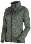 MAMMUT Damen Fleecejacke Chamuera ML Hooded Jacket, Größe S in Grau