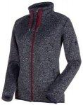 MAMMUT Damen Fleecejacke Chamuera ML Hooded Jacket, Größe 2XL in Schwarz