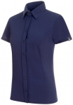 MAMMUT Damen Hemd Trovat Light Shirt, Größe S in Blau