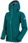 MAMMUT Damen Alpinjacke Masao HS Hooded Jacket, Größe L in Blau