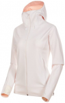 MAMMUT Damen Softshelljacke Ultimate V, Größe M in bright white-candy melange,