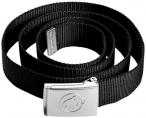 MAMMUT Gürtel Logo Belt in Schwarz