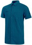 MAMMUT Herren Hemd Lenni Shirt, Größe L in Blau