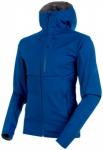 MAMMUT Herren Softshelljacke Ultimate V, Größe XL in Blau