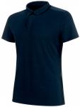 MAMMUT Herren Poloshirt Alvra Polo, Größe L in Blau