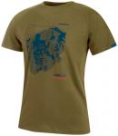 MAMMUT Herren T-Shirt Mountain, Größe M in Grün