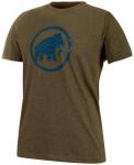 MAMMUT Herren T-Shirt Trovat, Größe XXL in Braun