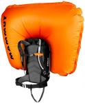 MAMMUT Longsleeve Ride Removable Airbag 3.0, Größe 30 L in Grau