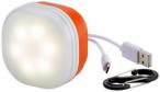 McKINLEY Camping-Lampe USB + Powerbank in Weiß