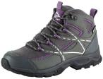 McKINLEY Damen Trekkingstiefel Nubash Mid AQX W, Größe 36 in Grau-Schwarz-Viol