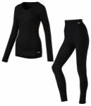 McKINLEY Damen Unterwäschenset New Zoendra-Zoen, Größe 44 in Schwarz