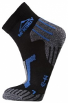 McKINLEY Herren Socken Gala, Größe 45-47 in Black-Blueroyal