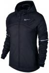 NIKE Damen Laufjacke Nike Shield Running Jacket, Größe 34 in Schwarz