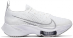 "NIKE Damen Laufschuhe ""Nike Zoom NEXT%"", Größe 38 in WHITE/ATMOSPHERE GREY-PUR"