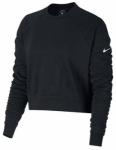 NIKE Damen Sweatshirt Training Top, Größe M in Schwarz