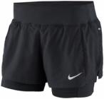 NIKE Damen Laufshorts Eclipse 2-in-1 Shorts, Größe 34 in Schwarz