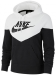"NIKE Damen Sweatshirt ""Heritage"", Größe S in BLACK/WHITE/BLACK"