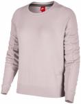 NIKE Damen Sweatshirt Sportswear Modern Crew, Größe L in Silber