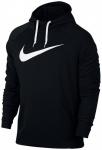 NIKE Herren Sweatshirt Dry Training Hoodie, Größe XL in Schwarz