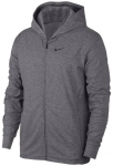 "NIKE Herren Sweatjacke ""Nike DRI-Fit"", Größe L in GUNSMOKE/HTR/BLACK"