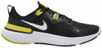 NIKE Herren Laufschuhe REACT MILER, Größe 46 in BLACK/WHITE-OPTI YELLOW-DARK G