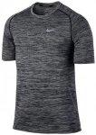 NIKE Herren Laufshirt Dri-Fit Knit Kurzarm, Größe XL in Grau
