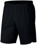 NIKE Herren Tennisshorts Flex Ace, Größe XL in Schwarz
