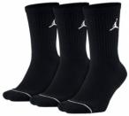 NIKE Herren Socken Jumpman Crew 3-Pack, Größe XL in Schwarz