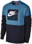 NIKE Herren Sweatshirt AIR FLC, Größe L in Schwarz