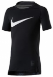 NIKE Boys Shirt Pro Hypercool Compression HBR, Größe XS in Schwarz