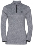 "ODLO Damen Fleecepullover/Midlayer ""Steeze"" Langarm, Größe S in grey melange"