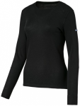 ODLO Damen Unterwäscheoberteil Shirt Crew Neck Warm, Größe L in Schwarz