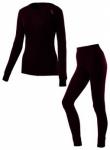 ODLO Damen Unterwäschenset, Größe L in Lila