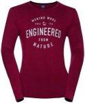 ODLO Herren Funktionsunterhemd / Funktionsshirt Shirt l/s Crew Neck 100% Natural